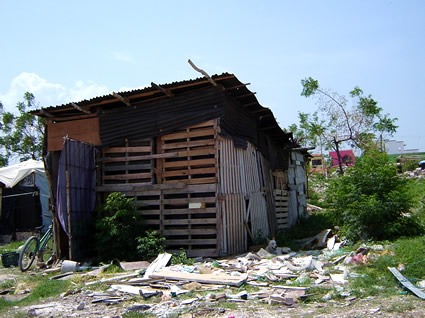 Poverty in Cancun Mexico