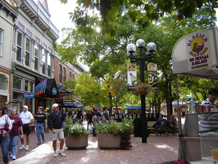 Pearl Street Mall In Boulder Co picture