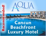 Beachfront Hotel Aqua Cancun